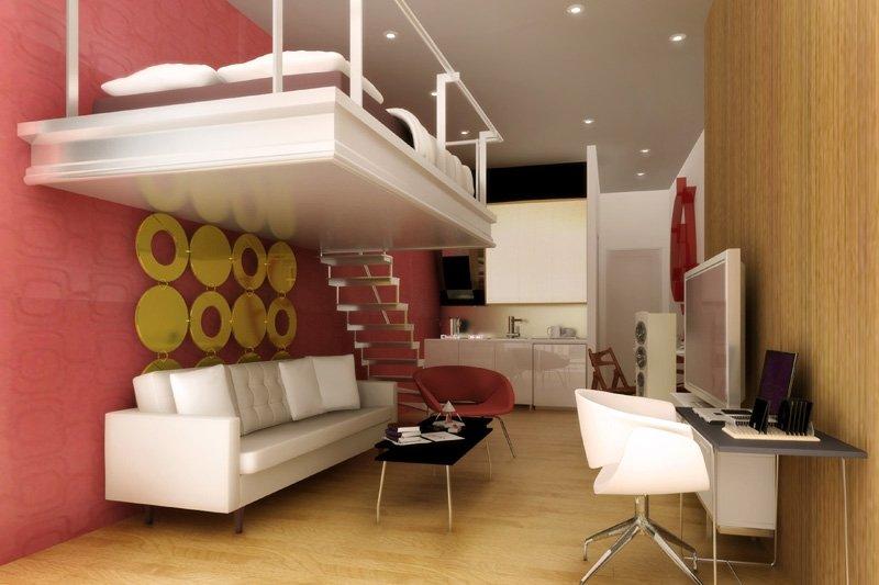Tips Mendesain Apartemen Berukuran Mungil