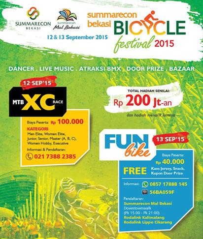 summarecon-bekasi-bicycle-festival-2015