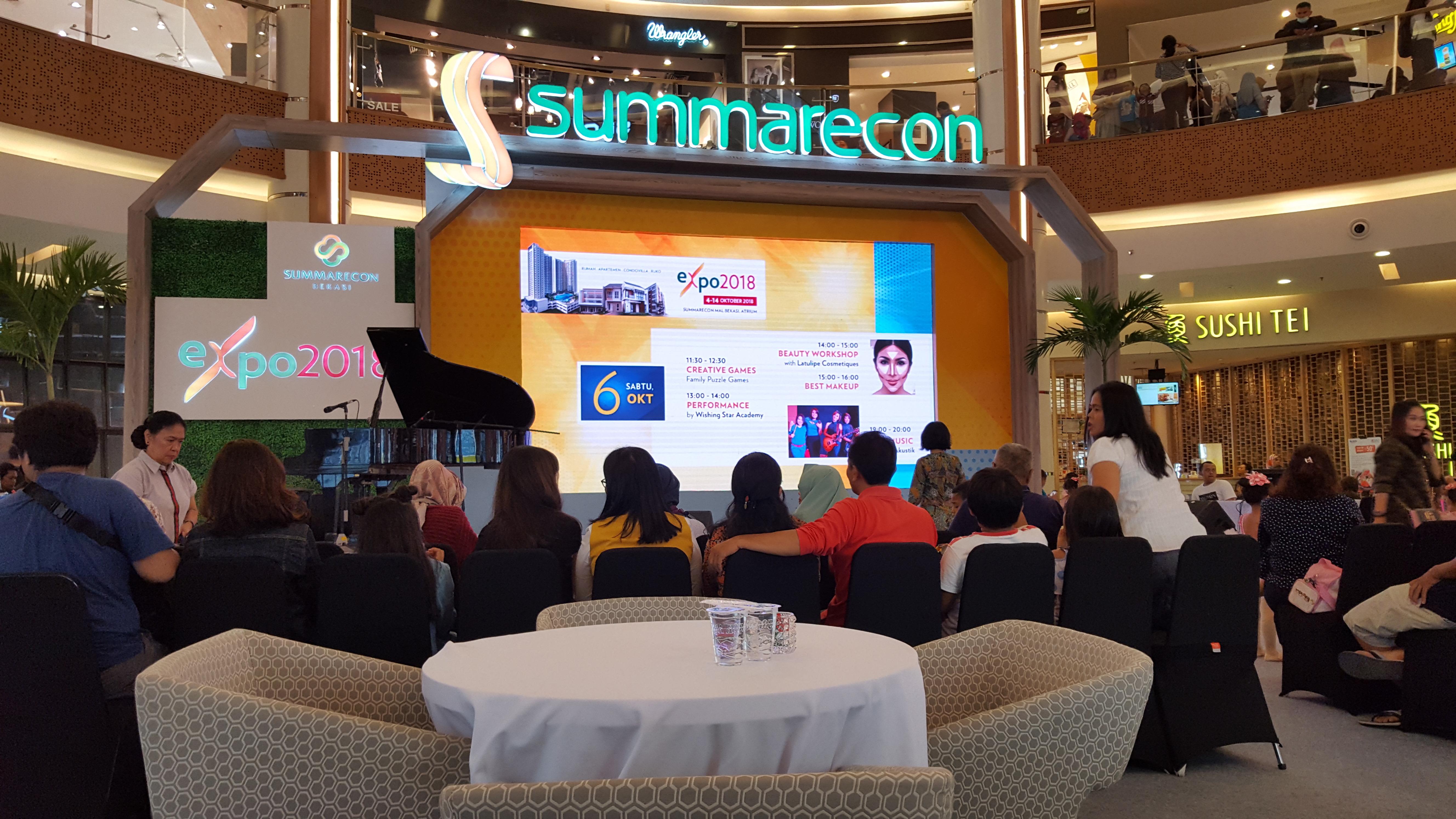 Gelaran Summarecon Bekasi Expo 2018