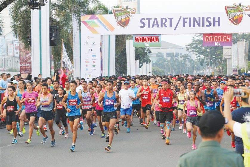 Serpong Green Warrior Run 2106 (SGWR 2016)